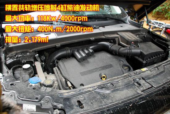 柴油发动机参数