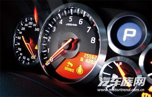 日产GT-R仪表盘
