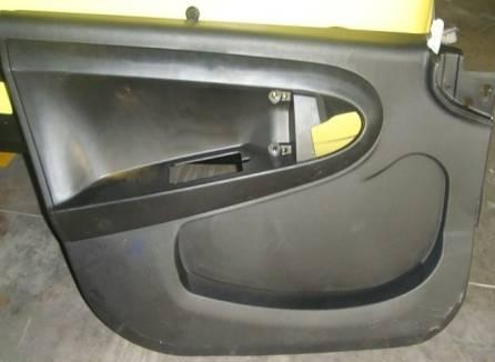 图2:车门内饰造型的乘员保护设计