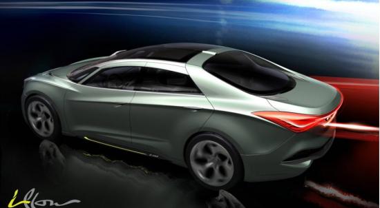 现代i-flow概念车即将亮相日内瓦