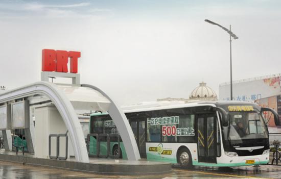 中大YCK6128HEC纯电动公交车