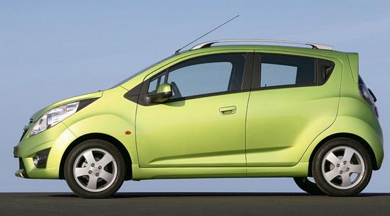 新款雪佛兰Spark-4款即将上市微车大比拼 北京车展新车导购