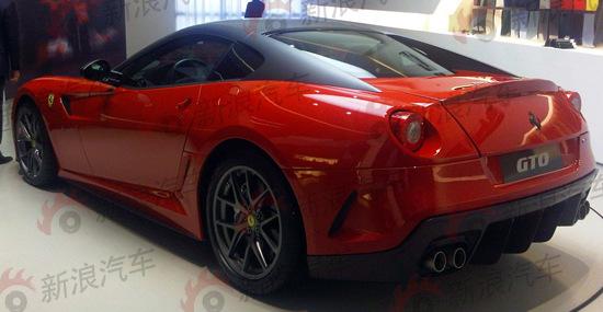全新法拉利599 GTO谍照