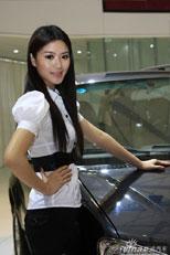 上海车展众泰模特