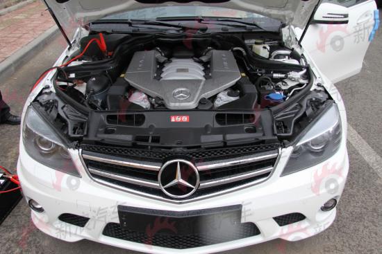 C63强大的引擎