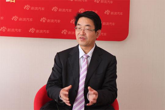东风本田汽车有限公司执行副总经理陈斌波做客新浪访谈间