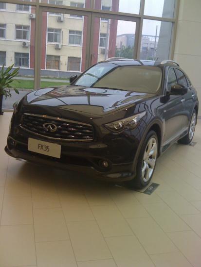 北京英菲尼迪2010款FX35到店 售价81.6万