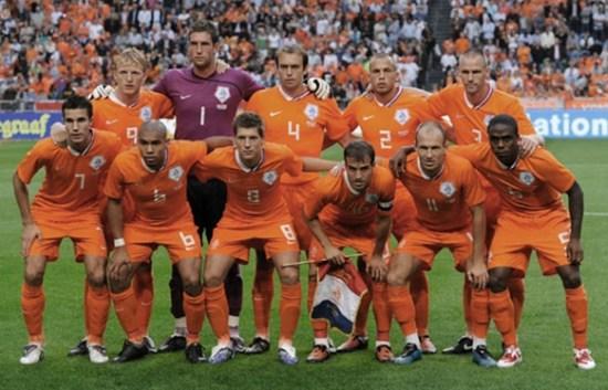 荷兰队(图片不能代表首发阵容)