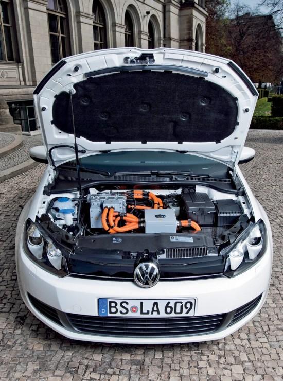 大众e-Golf发动机和电力电子系统