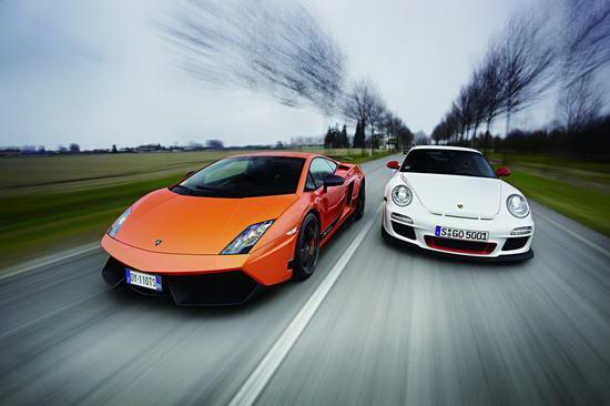 vs保时捷911 GT3 RS
