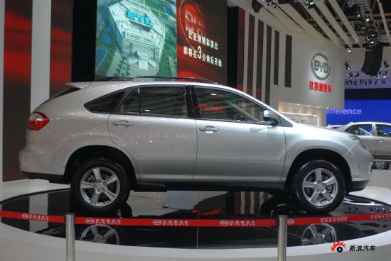 比亚迪SUV动力配置曝光 S6搭2.0发动机+CVT