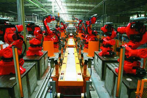 智能机器人精密制造