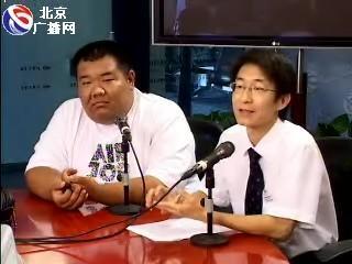 东风标致经销商代表周立伟(右)