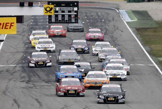 10月17日DTM霍根海姆站决赛发车