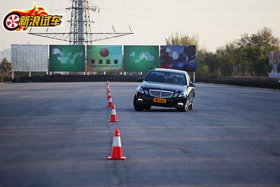 北京奔驰E300L 外观图片