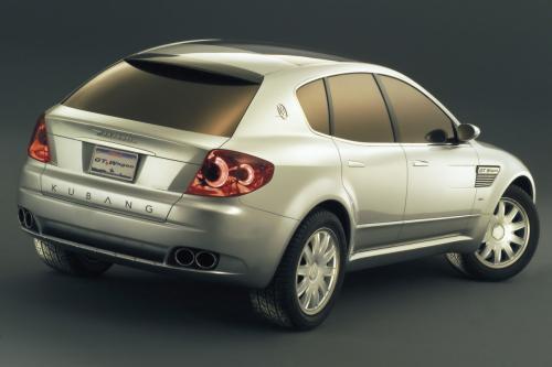 玛莎拉蒂Kubang GT旅行概念车