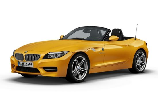 图为BMW Z4 sDrive 35is烈焰极致版
