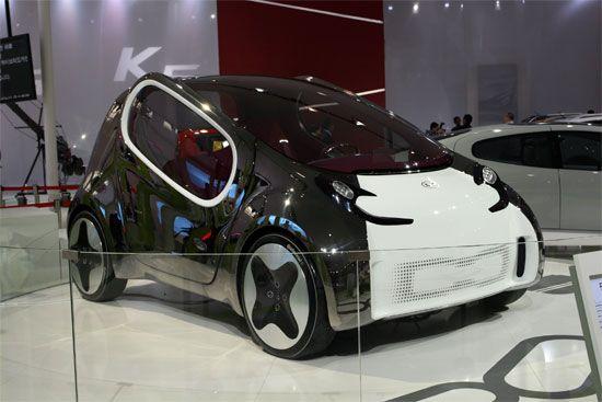 起亚零排放全电力驱动概念车POP