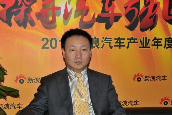 浙江吉利控股集团副总裁兼销售公司总经理刘金良先生