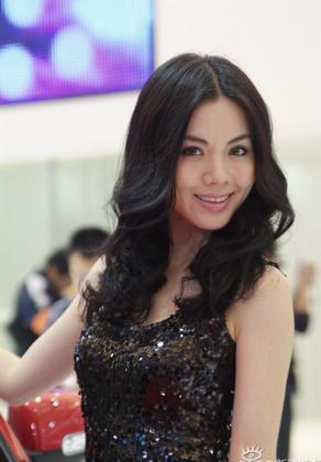 上海车展模特