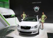 车展前瞻58:斯柯达全球首款电动概念车亮相