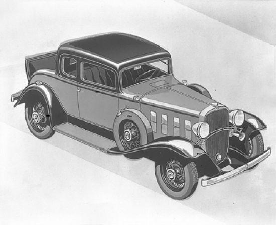 1932款雪佛兰豪华双门跑车