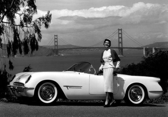 1953款雪佛兰科尔维特