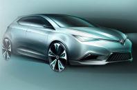 车展前瞻69:上汽MG5两厢新概念车首发