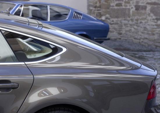 图为奥迪A7 Sportback与奥迪100 Coupe S