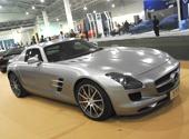 安徽车展|豪车 奔驰SLS AMG