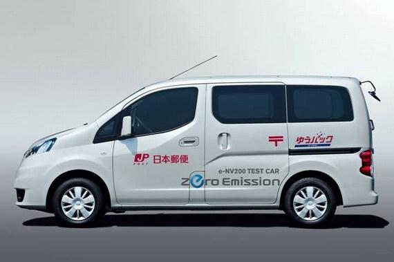 日本邮政公司测试用车