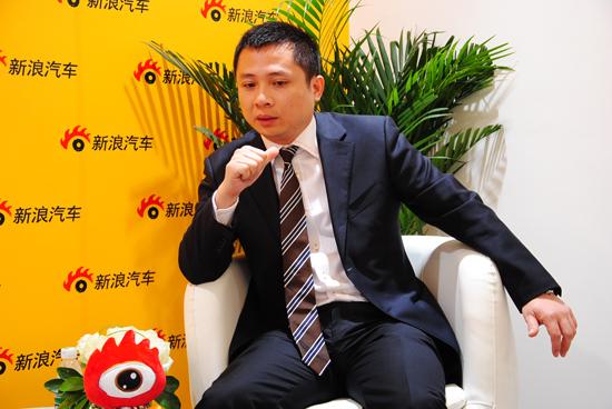 陆风汽车营销公司总经理潘欣欣