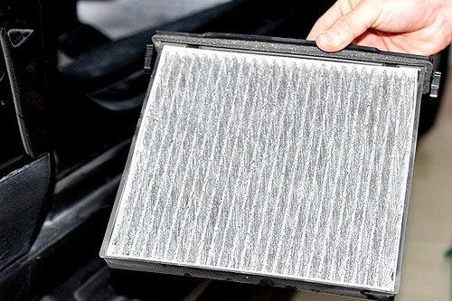 空调滤芯可以重复使用,但过脏的也应更换