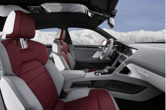 大众Cross Coupe TDI插电式混动概念车将亮相日内瓦