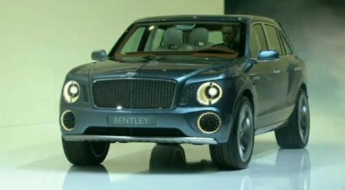 宾利EXP 9F概念车