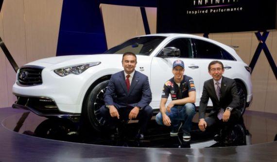 英菲尼迪FX Sebastian Vettel版证实将量产