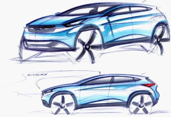 奇瑞全新SUV TX概念车设计图曝光