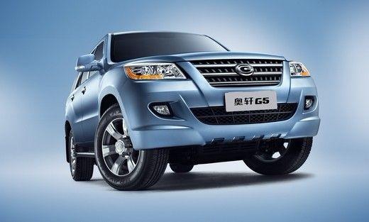 广汽吉奥推出柴油版奥轩G5车型