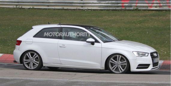 汽车养护用品奥迪S3无伪谍照曝光 预计2013年上市