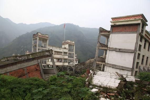 512特大地震遗址