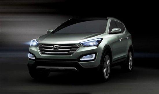北京现代SUV 全新胜达Santafe年底上市