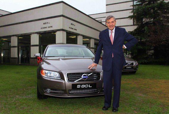 中欧商学院院长佩德罗・雷诺先生是沃尔沃S80L的忠实车主