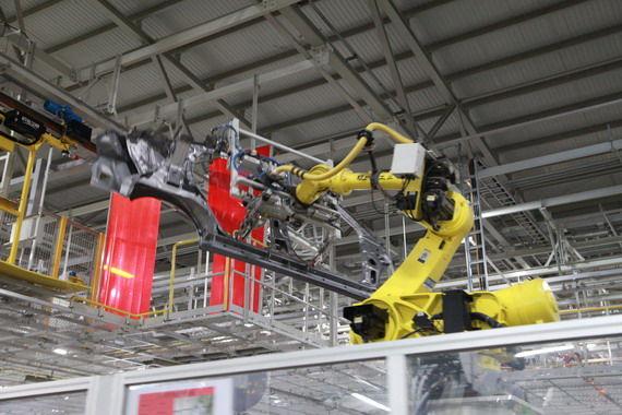 高度自动化的厂房