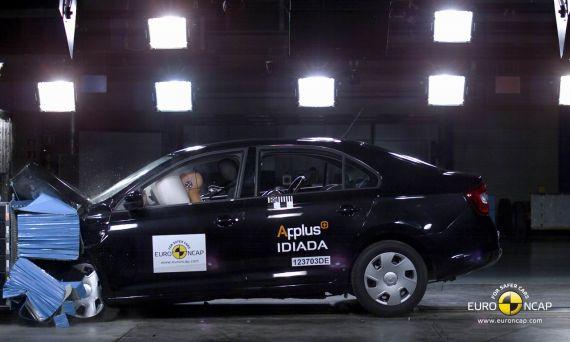 斯柯达Rapid获Euro-NCAP五星安全评级