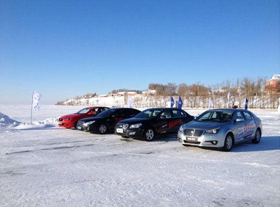 一汽奔腾/欧朗查干湖畅享冰雪漂移