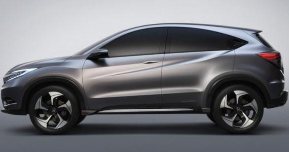 图为本田小型SUV概念车