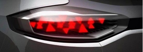 MG CS概念车尾灯细节