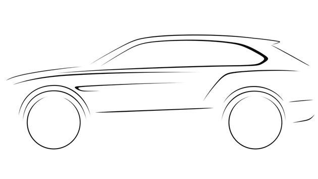 公路上的汽车简笔画
