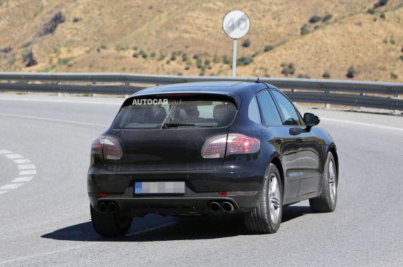 Porsche Macan Spy 11