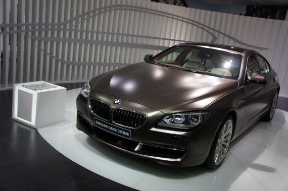 全新BMW M6四门轿跑车